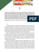 A construção da Paisagem Cultural de Goiás