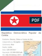 Coreia no norte apresentação