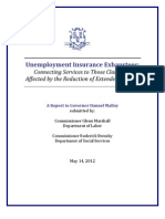 Unemployment Insurance Exhaustees Report