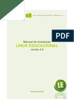 Linux Educacional 4.0