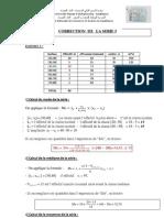 Correction Serie 3