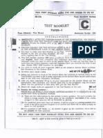 IAS Prelims CSAT 2012 Question Paper 1