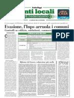 ItaliaOggi_25.05 - Evasione, l'Inps arruola i comuni.
