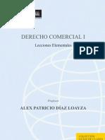Derecho Comercial I. Lecciones Element Ales