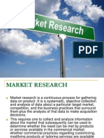 MARKET RESEARCH and Invetigation 9