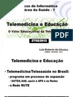 Telemedicina e Educação