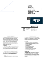 Balun Frame Pin Assignment