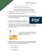 examen trigonometría