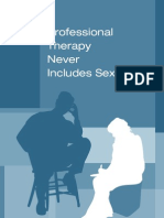 Therapy Does Not Include Sex