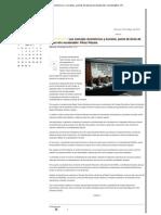 23-05-12 Los consejos económicos y sociales, punta de lanza de desarrollo sustentable