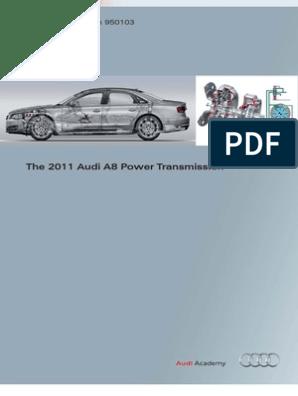 2011 A8 Power Transmission | Transmission (Mechanics