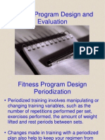10 Fitness Program Design and Evaluation
