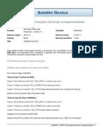 FIS - DIRF - Informações técnicas complementares