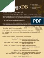 Mongodb Qrc Commands