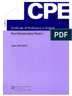 CPE- June 2006