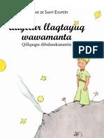 Quyllur llaqtayuq wawamanta (el principito)