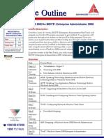 MCSE MCITP EA MCSE 2003 to MCITP 2008 Enterprise Administrator