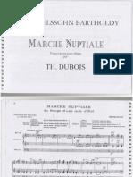 Marche Nuptiale Mendelssohn - Dubois