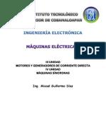 Motores y Generadores de Corriente Directa (Ing. Misael Guillermo Díaz)