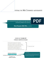 Pierpont Rebuttal to McCunney Affidavit
