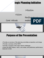 LACCD Strategic Plan SWOT Analysis