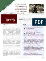 1A FOG Energy Case Study 031609