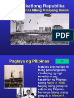 Philippine President 3rd Republic