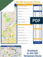Bus Route Map Park RB5