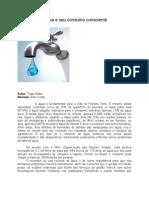 Economia de água e seu consumo consciente