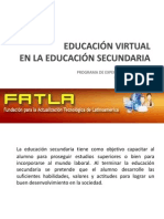 Educacion Virtual en La Sec Und Aria