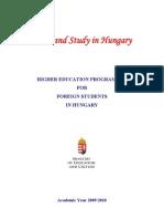 Higher Education 2009