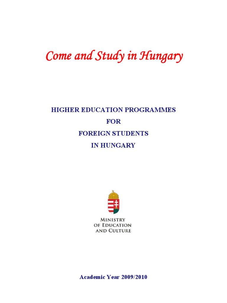 Higher Education 2009 | Academic Degree | Master\'s Degree