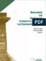 Anuario Derecho Constitucional no 2004 T1-KAS