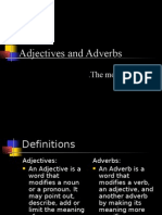 Adverbs&Adjectives
