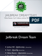 Jailbreak Dream Team - Absinthe 2.0 Jailbreak