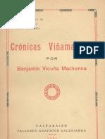Benjamin Vicuña Mackenna - Cronicas viñamarinas