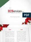 Brochure ECSERVICES SAS
