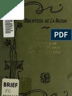 Narración del viaje por la Cordillera de Los Andes y residencia en Lima y otras partes del Perú en los años 1823 Y 1824. (1825)