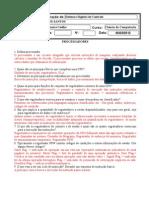 3º Exercício de SDC - processador