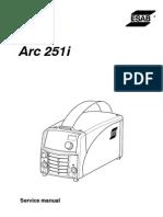 Caddy Arc 251i Service Manual