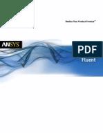 Ansys Fluent Brochure 14.0