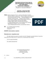 75- 2012 Convocatoria directores Reunión Ministro Educación