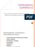 dispositivo de INSTRUMENTAL QUIRÚRGICO