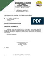 81- 2012 Oficio DRH-ASIGRH-325-2012 remitir informe de certificados de defunción