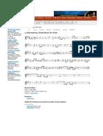 La Marseillaise - Violin Sheet Music