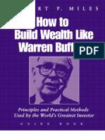 How to Build Wealth Like Warren Buffet