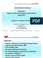 EE8315 Lecture1 Course Overview 2012-PA1