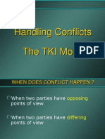 Conflict Handling Style