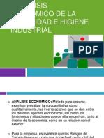 Análisis económico de la seguridad e higiene industrial