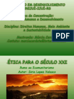 ETICA PARA O SÉCULO XXI - SIRIO LOPES VELASCO
